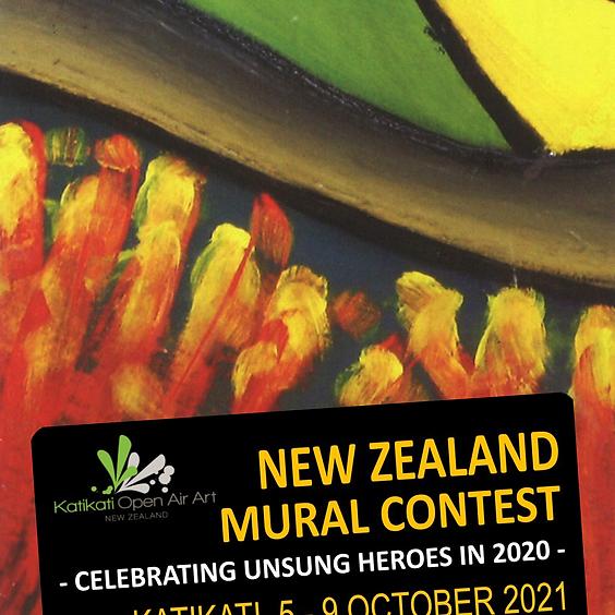 NZ Mural Contest Prizegiving **POSTPONED UNTIL APRIL 2022**