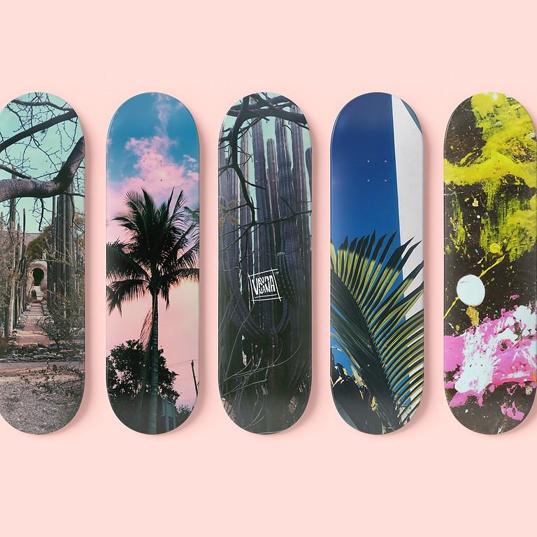 Skateboard Art Workshop **No Spaces Left**
