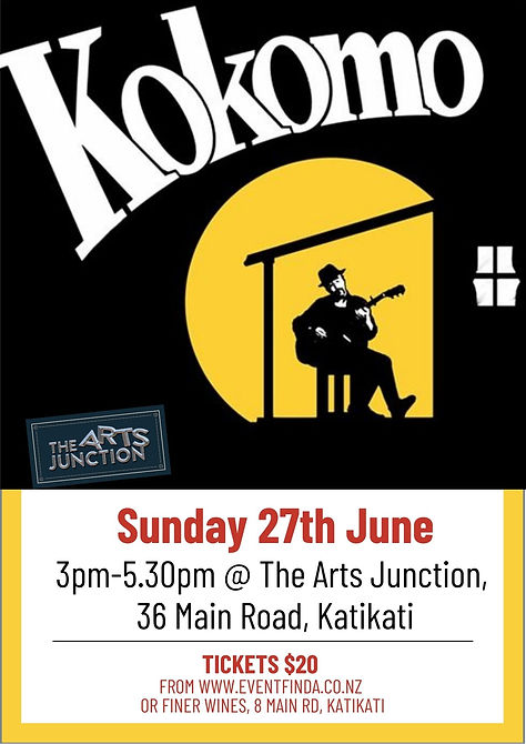 Sunday 27th June 3pm @ The Arts Junction
