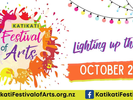 Mural Town Hosting Katikati Festival of Arts in October 2021