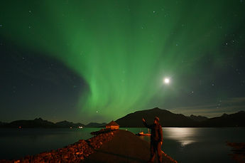 Aurora Borealis, Northern Light, Nordlicht