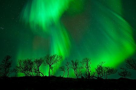 The Northern Light Nordlys Nordlyset Aurora Borealis
