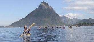 Overnatting i Bø - Arctic Sea Kayak Rase 2014