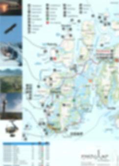 kart, fjordcamp, Bø i Vesterålen, Lofoten, Nordland, Nord Norge