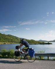 Bikes for hire in Bø Vesterålen Lofoten Northern Norway Bicycle rental