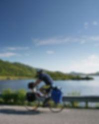 Sykkelutleie i Bø i Vesterålen. Syklist Velkommen. Biking in Norway Northern Norway Vesterålen. Rent a bike in Vesterålen Lofoten. Sykkelutleie Hire bike Nord Norge Lofoten og Vesterålen