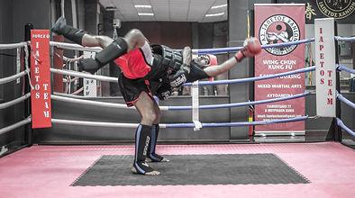 Sanda Boxing!