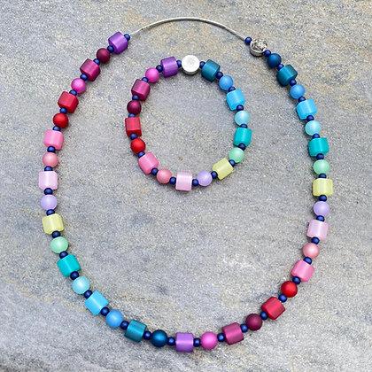Summer Necklace and Bracelet