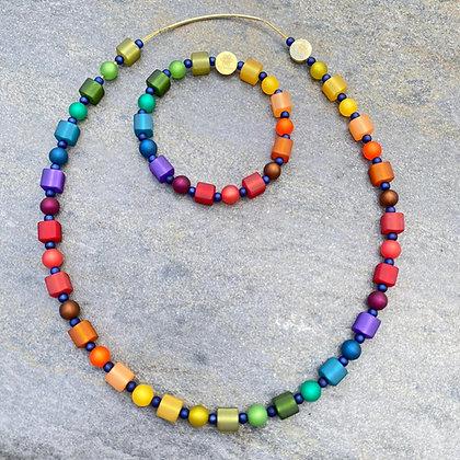 Autumn Necklace and Bracelet