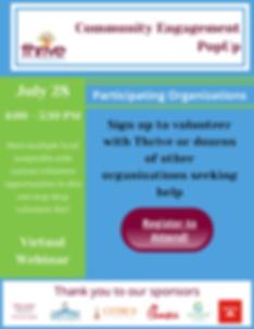 Community Engagement Summer PopUp Update