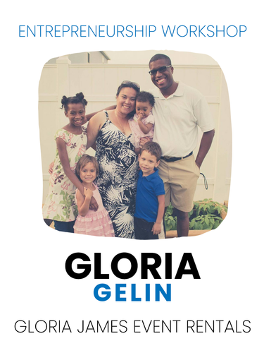 Entrepreneurship   Gloria Gelin
