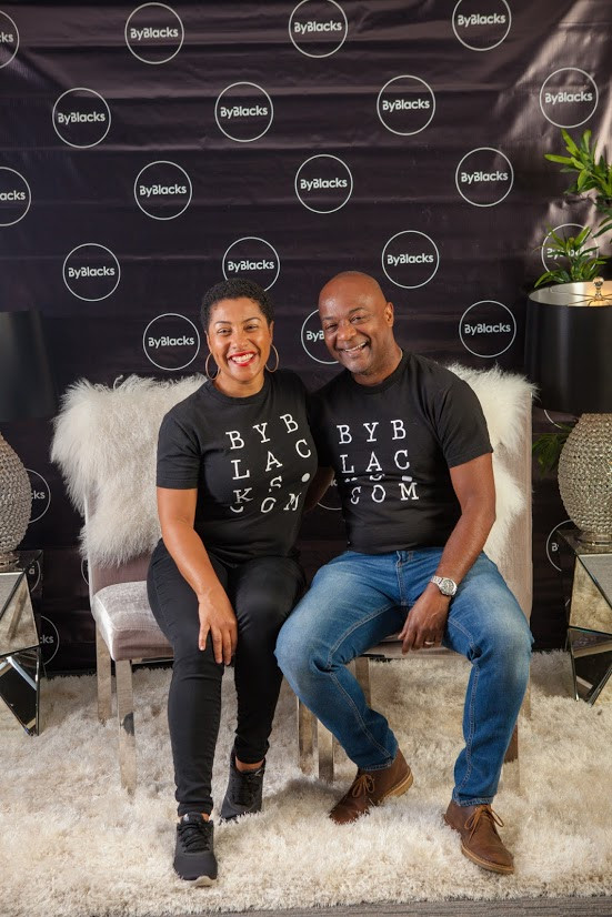 Camille and Roger Dundas, founders of ByBlacks.com