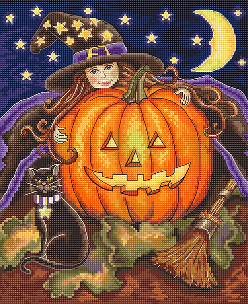 LETI 992 Pumpkin Girl