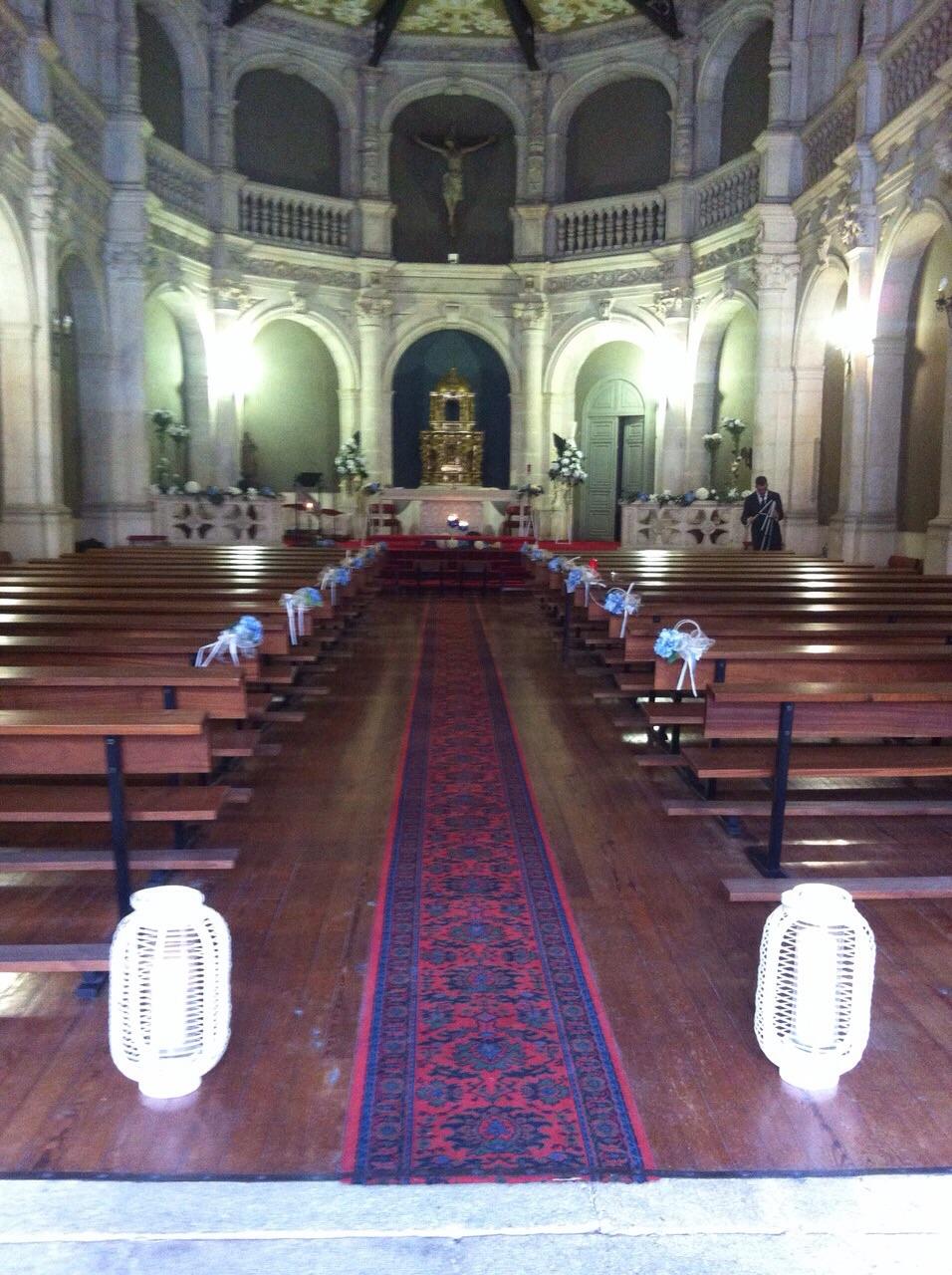 Decoración de iglesia o ayuntamiento