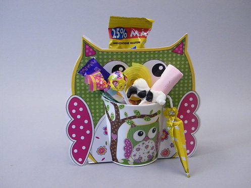 Taza candies Buho