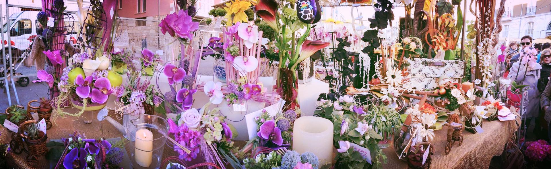 Decoración Floral tienda