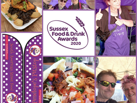 Sussex Street Food Awards Finalist 2020