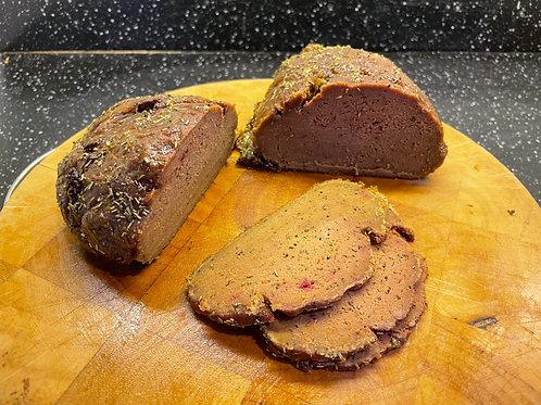 Rubbed Beef Brisket