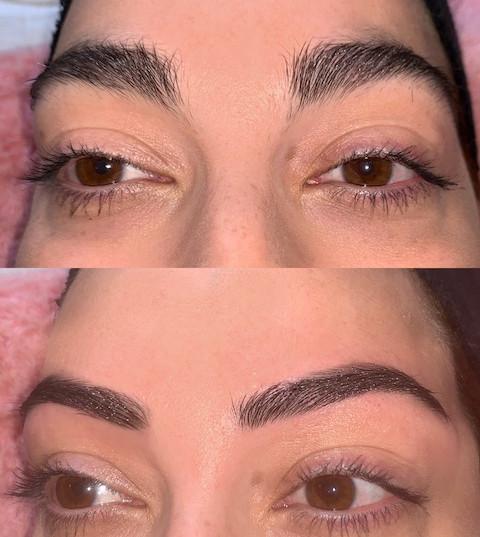 Natural Brow Transformation