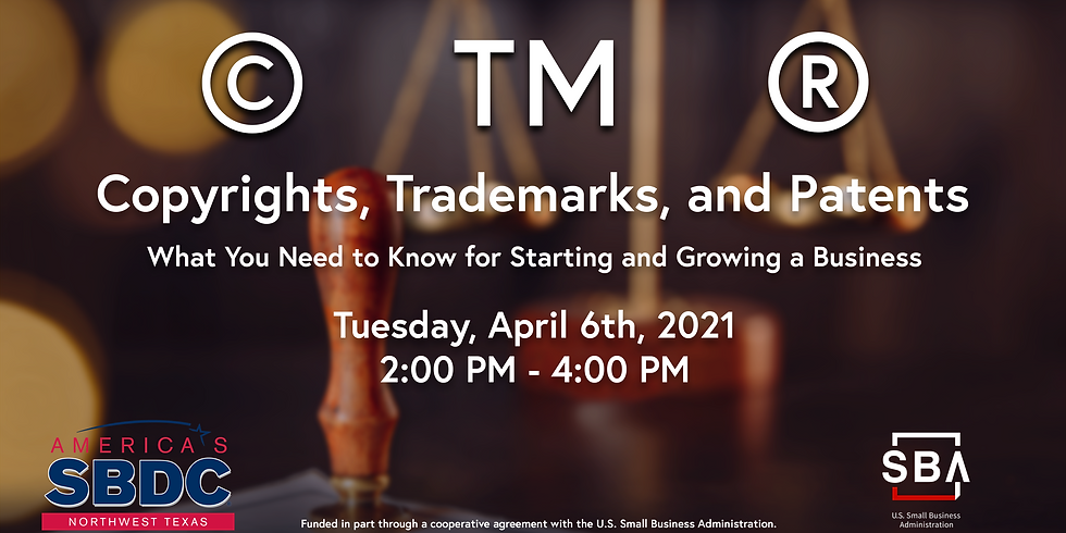 IP 101: Copyrights, Trademarks, and Patents