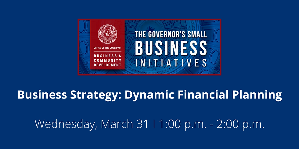 Business Strategy: Dynamic Financial Planning