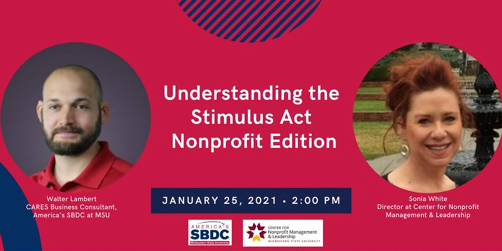 Understanding the Stimulus Act - Nonprofit Edition!