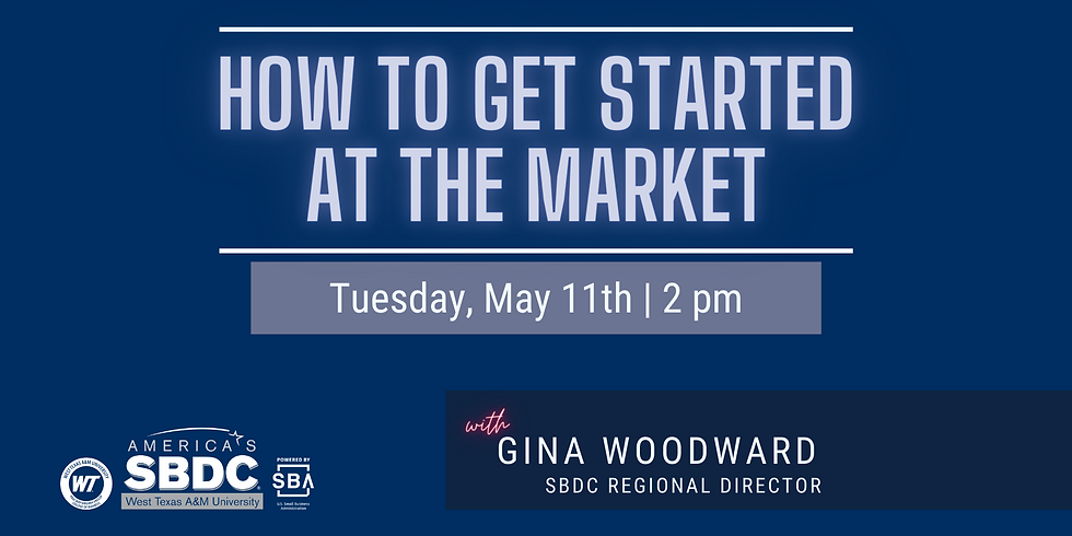 How to get started at the Market