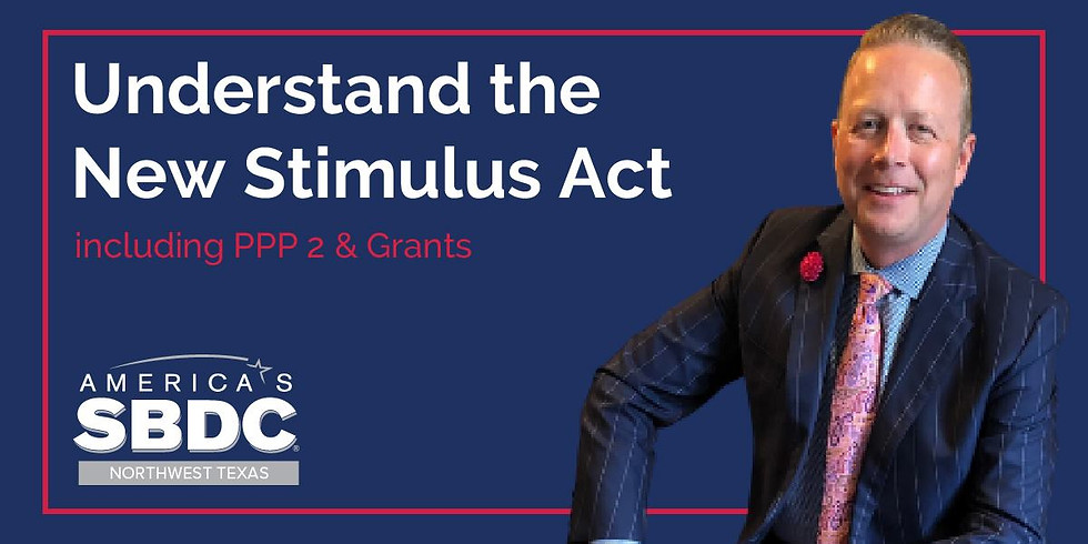 Understand the Stimulus Act (10 AM)