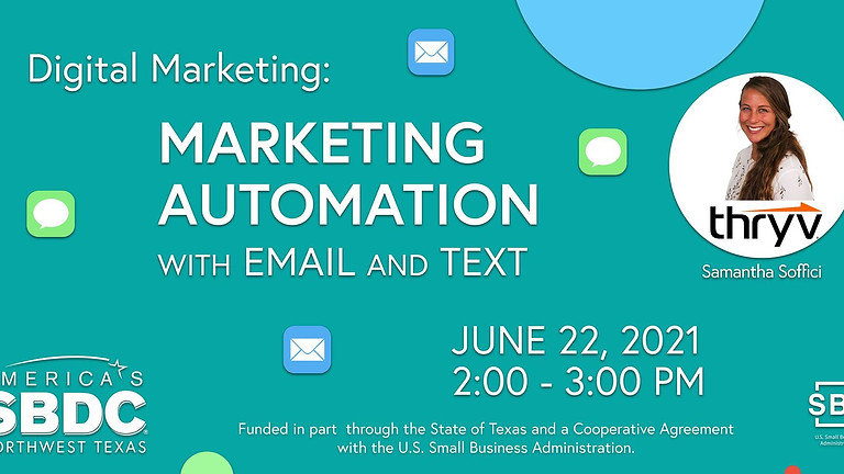 Digital Marketing: Marketing Automation with email and text