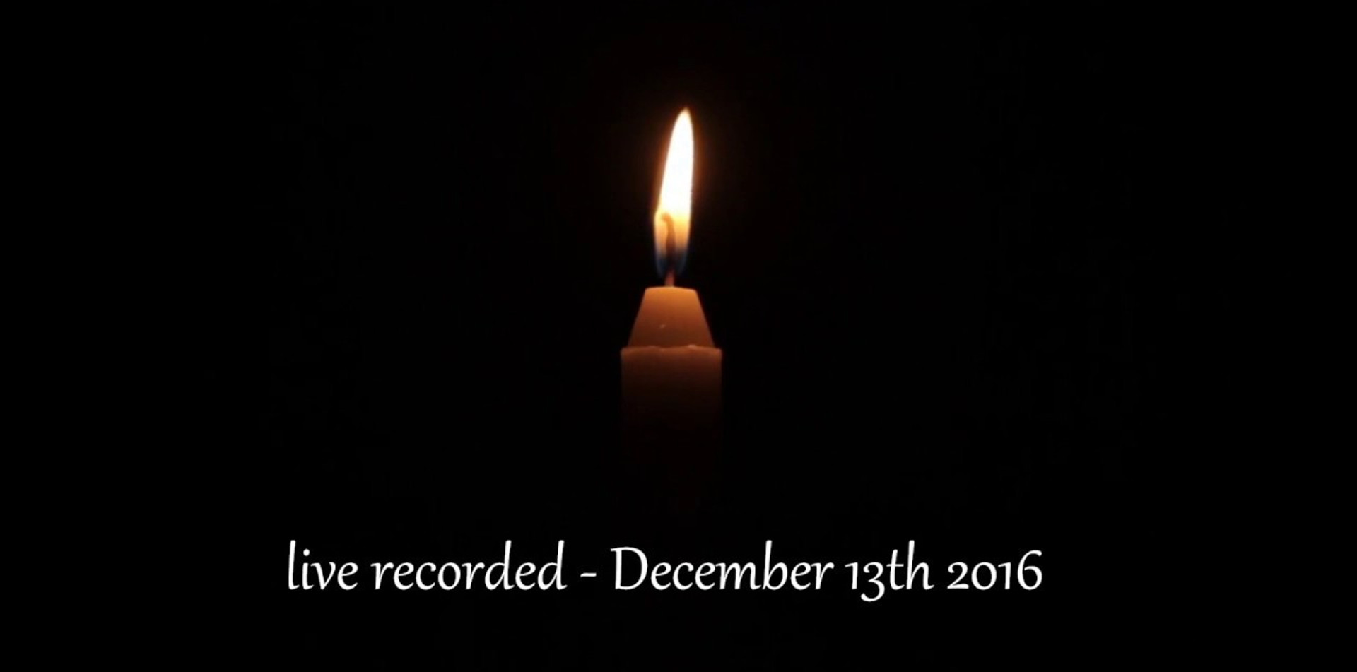 A Christmas Carol (2016) recording