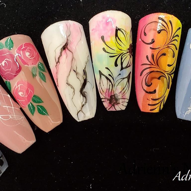 Nail Art Class I.