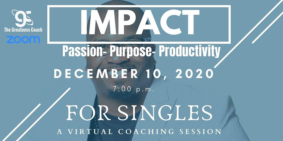 IMPACT Coaching Series for Singles