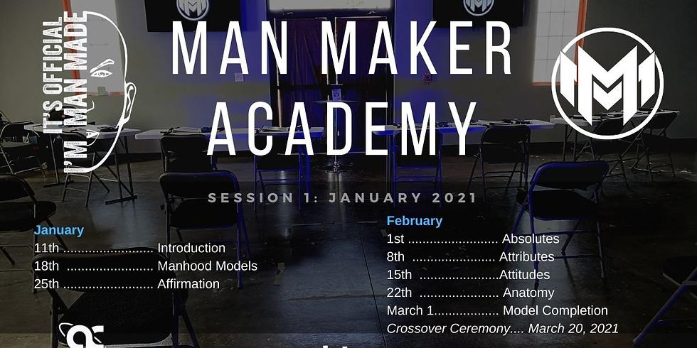 Man Maker Academy Winter 2021