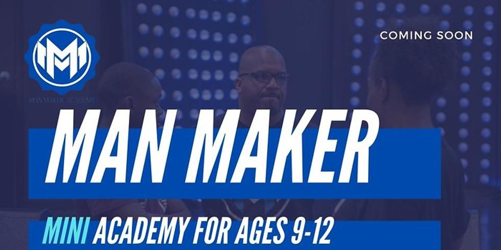 Man Maker Mini Academy Fall 2021