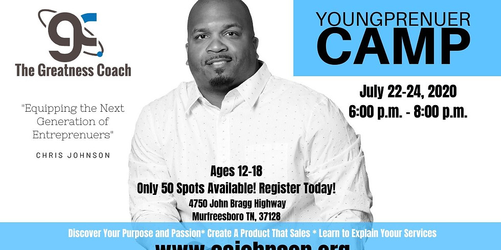 Youngprenuers Camp