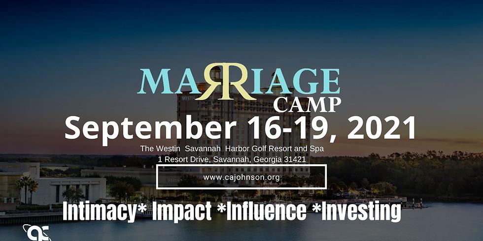 Marriage Camp 2021: Savannah, GA