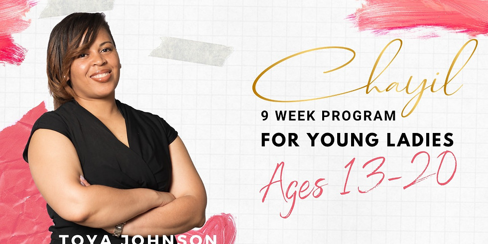 Chayil: Mentorship For Young Ladies Winter Session