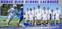 Lacrosse Team Senior Banners