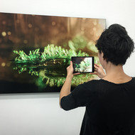 Submerged, Ground Waters series (augmented reality, installation view)