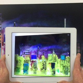 Deluge, Ground Waters series (augmented reality demo)
