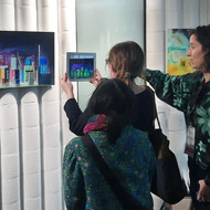 Ground Waters series (augmented reality installation view)
