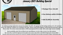 January 2021 Monthly Special