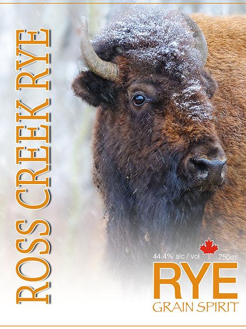 Ross Creek Rye WHITE grain spirit