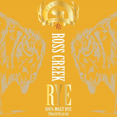 Ross Creek Rye Barrel Aged Spirit