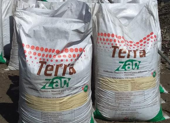 1 Tonelada de Fertilizante orgánico y acondicionador de suelos
