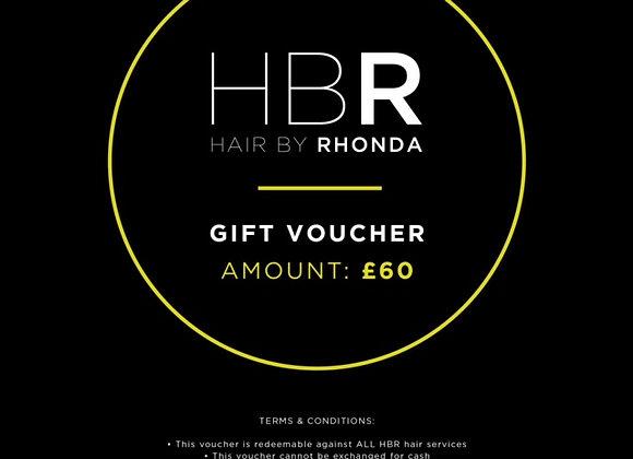 £60 HBR Gift Voucher