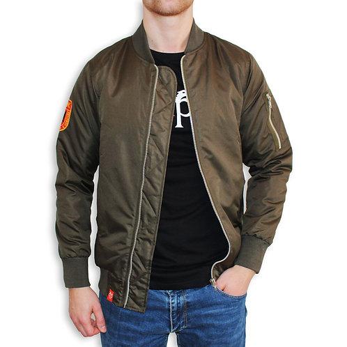 SHQIPEZ Bomber Jacket | Green