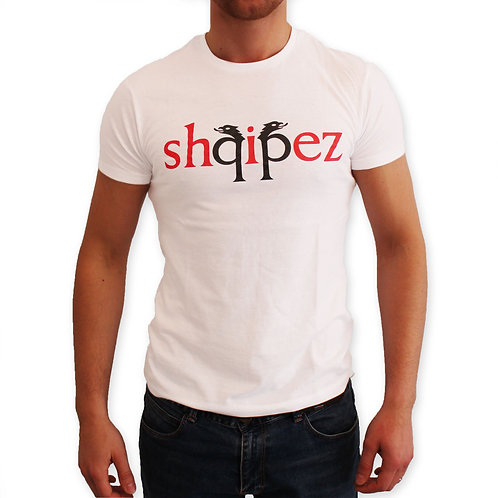 SHQIPEZ Crewneck T-shirt | White