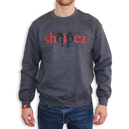 SHQIPEZ Crewneck Sweatshirt | Dark Heather