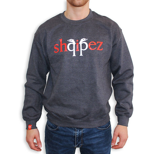 SHQIPEZ Crewneck Sweatshirt | Dark Heather